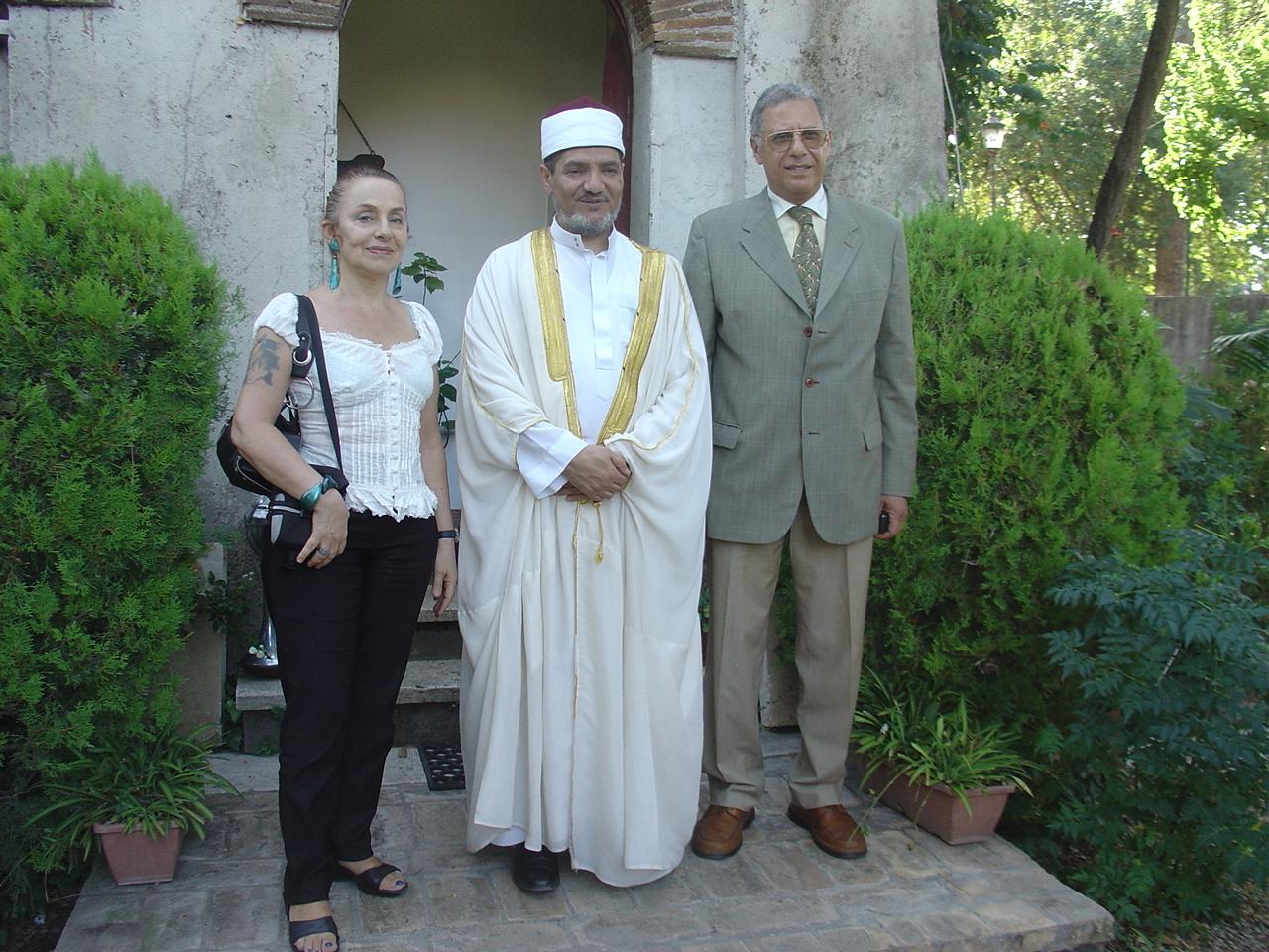 Con l'Ambasciatore egiziano