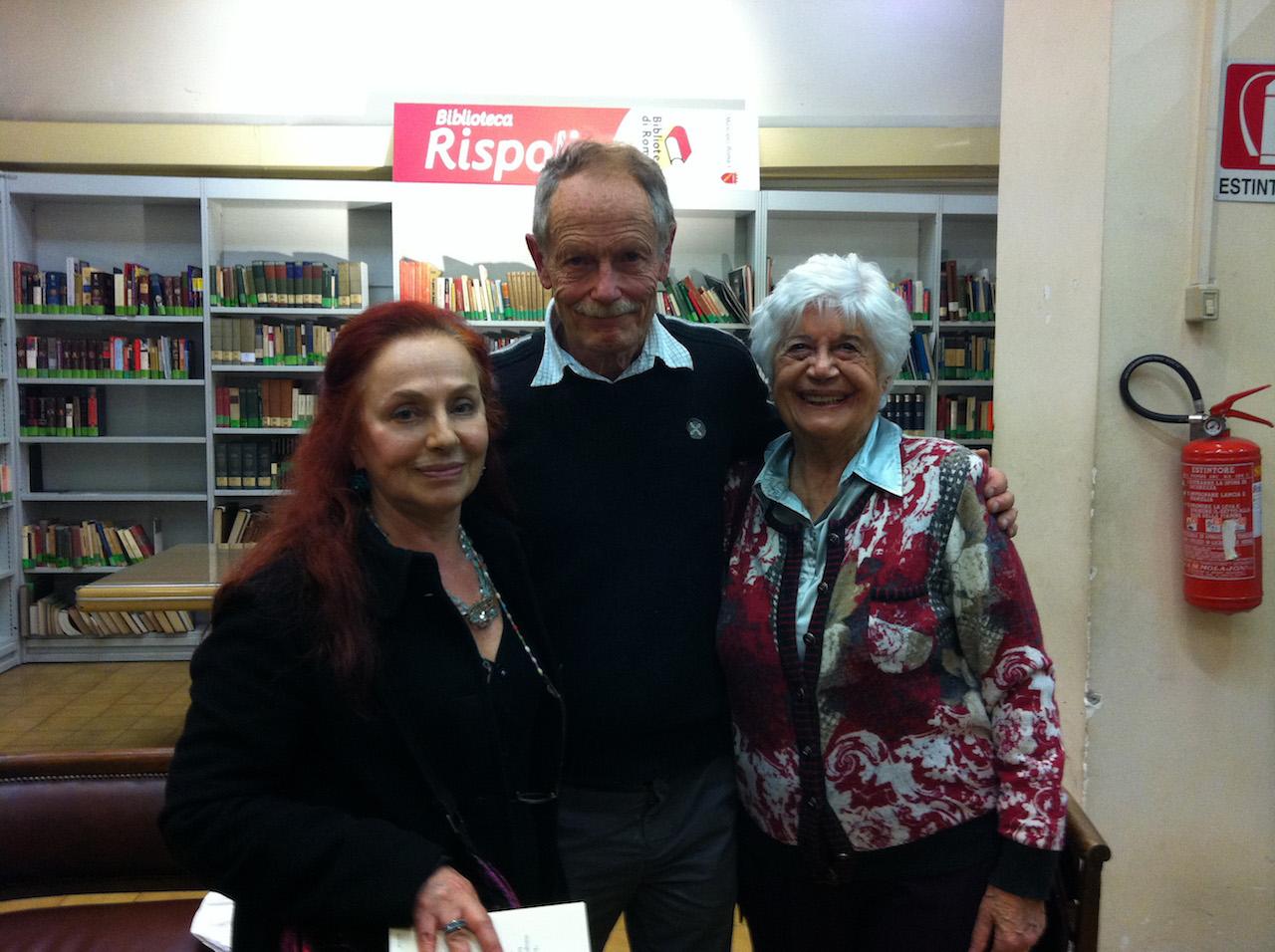Con Erri De Luca e Lina Passalacqua