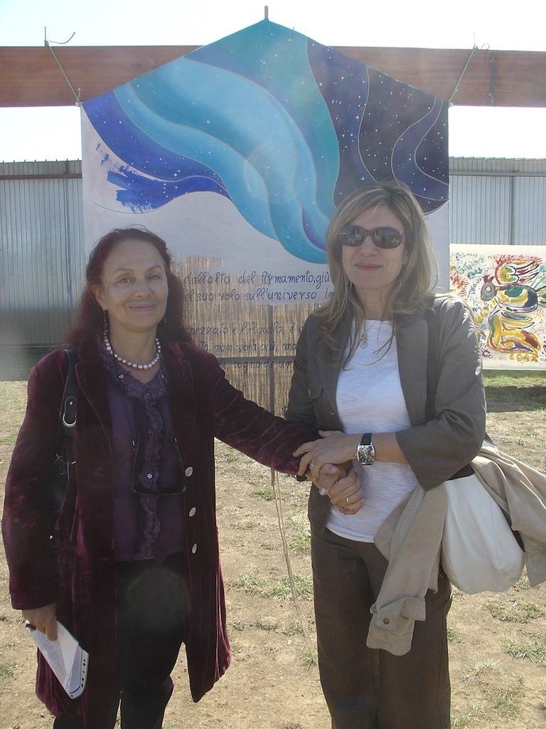 Con Laura Mancuso D'Arrigo