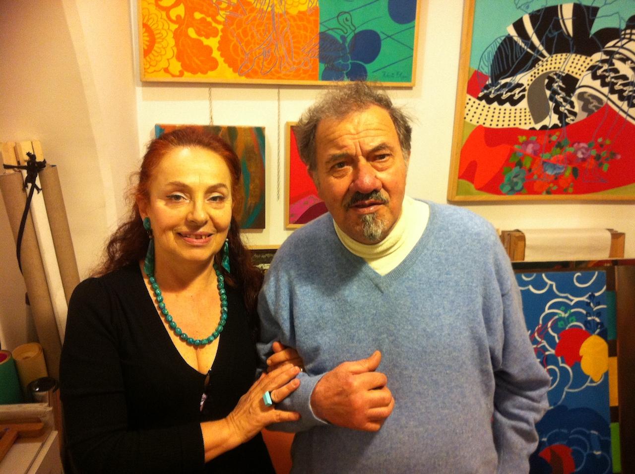 Con Alfiero Nena