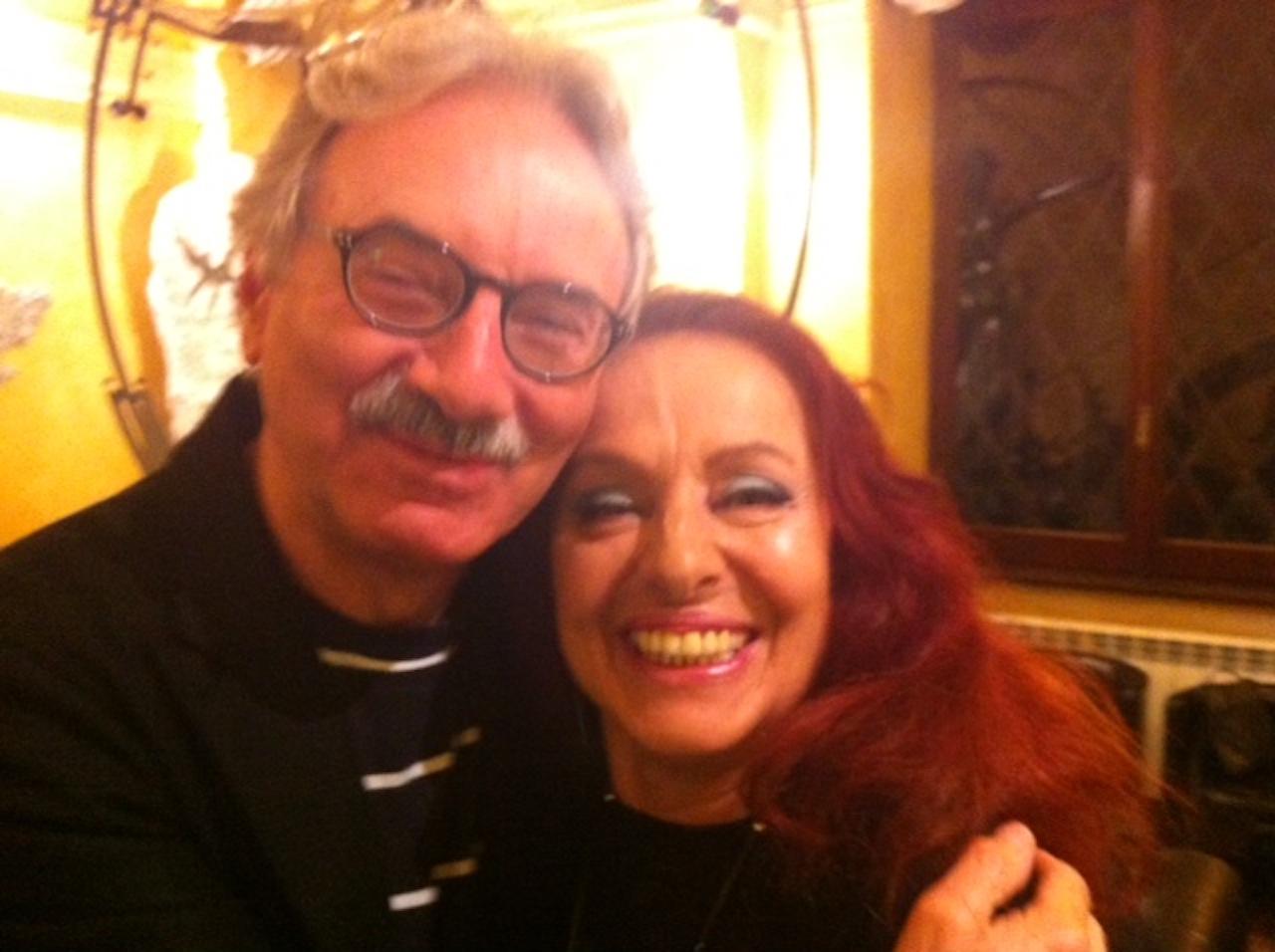 Con Gianni De Santis