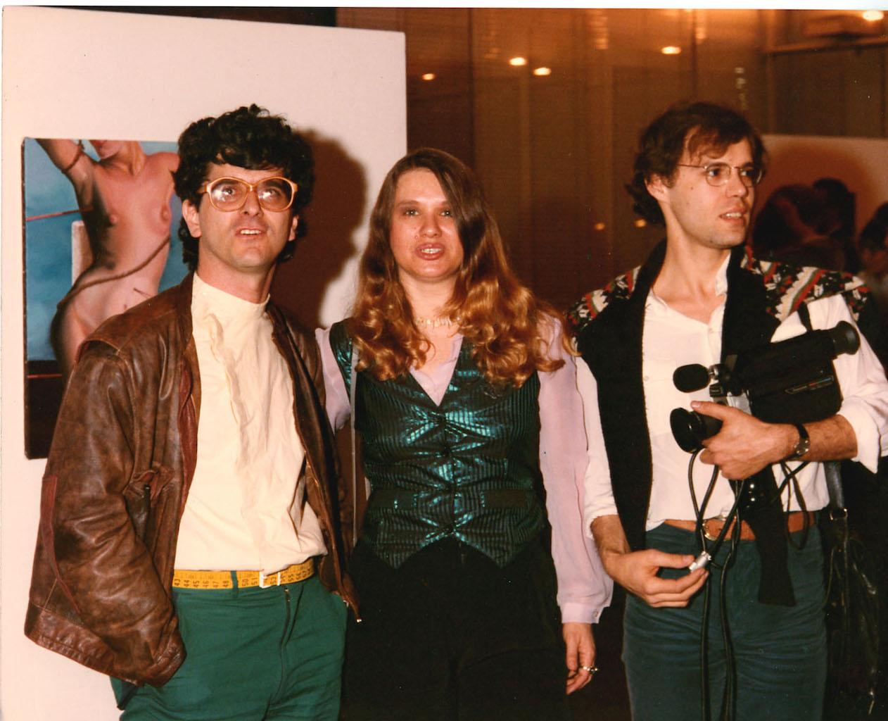 Con Peticov e Gruber