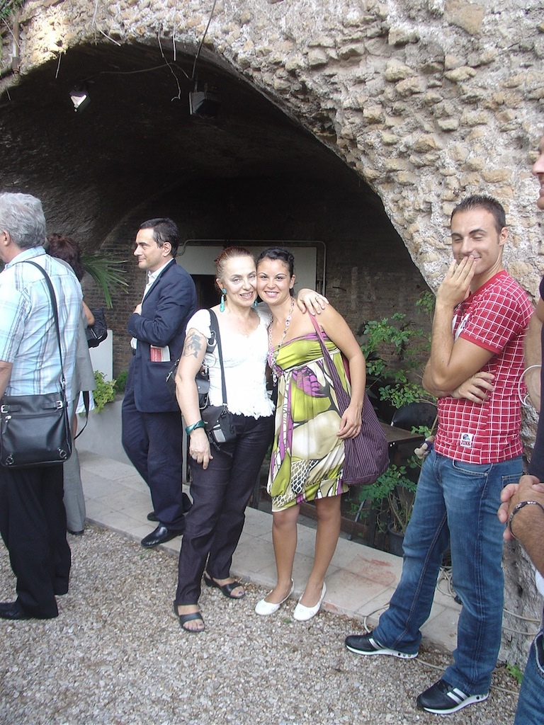 Con Serena di Giovanni