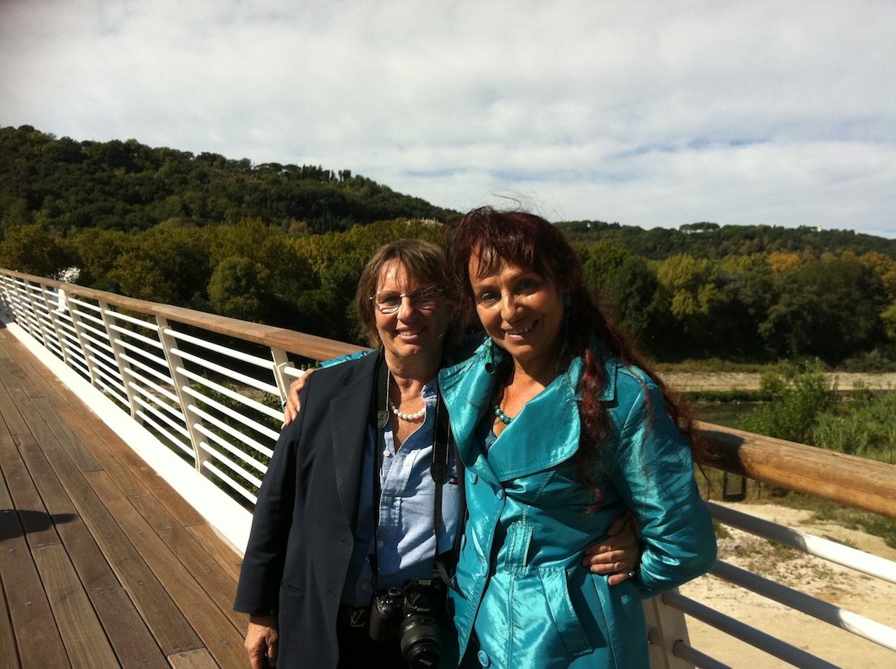 Con Simona Sarti