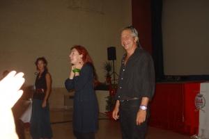 Patrizia Zappa Mulas e Fiorenzo Fraccascia